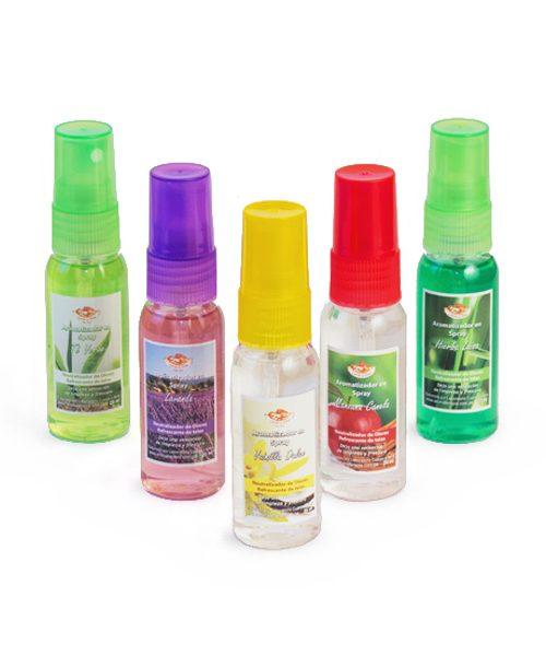 Mini Aromatizadores en Spray
