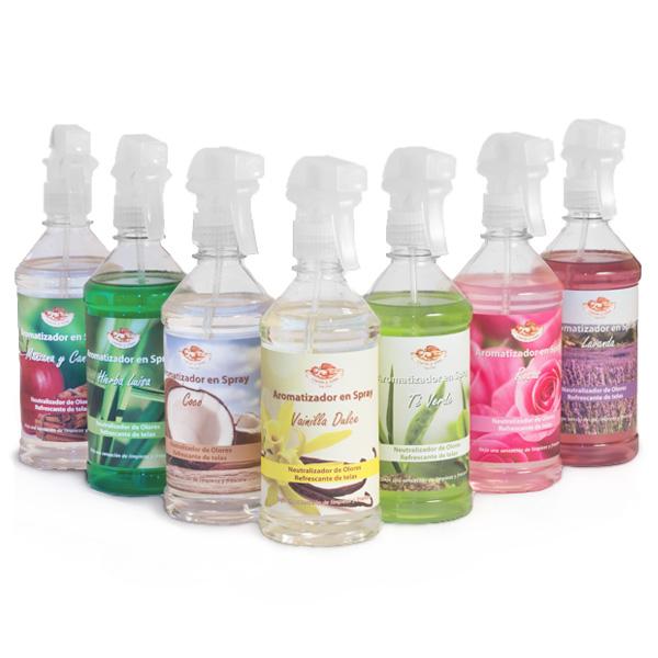 Aromatizadores en Spray  Línea Naturaleza