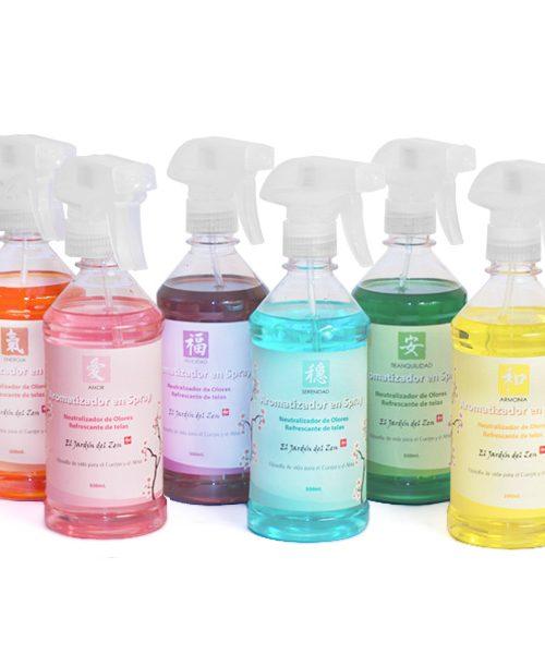 Aromatizadores en Spray Línea Sensaciones
